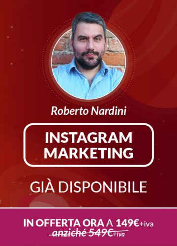 Corso Online Instagram Marketing