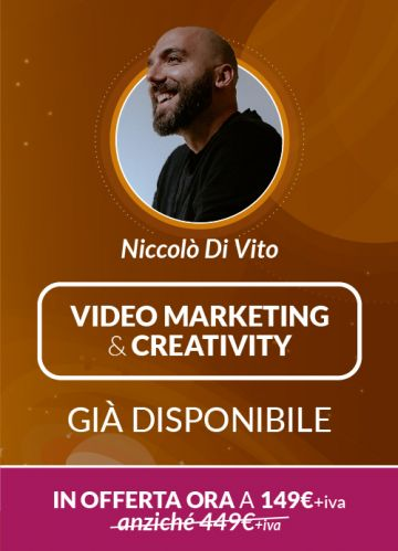 Corso Online Video Marketing & Creativity