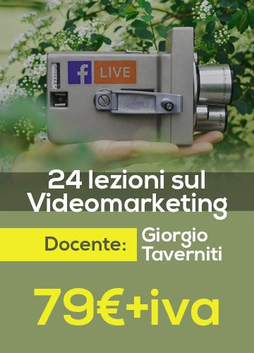 Corso Video Marketing e Youtube