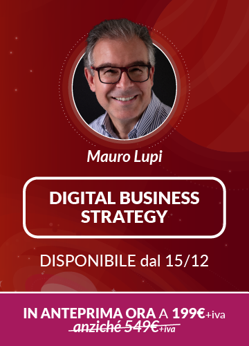 Corso On Demand Digital Business Strategy